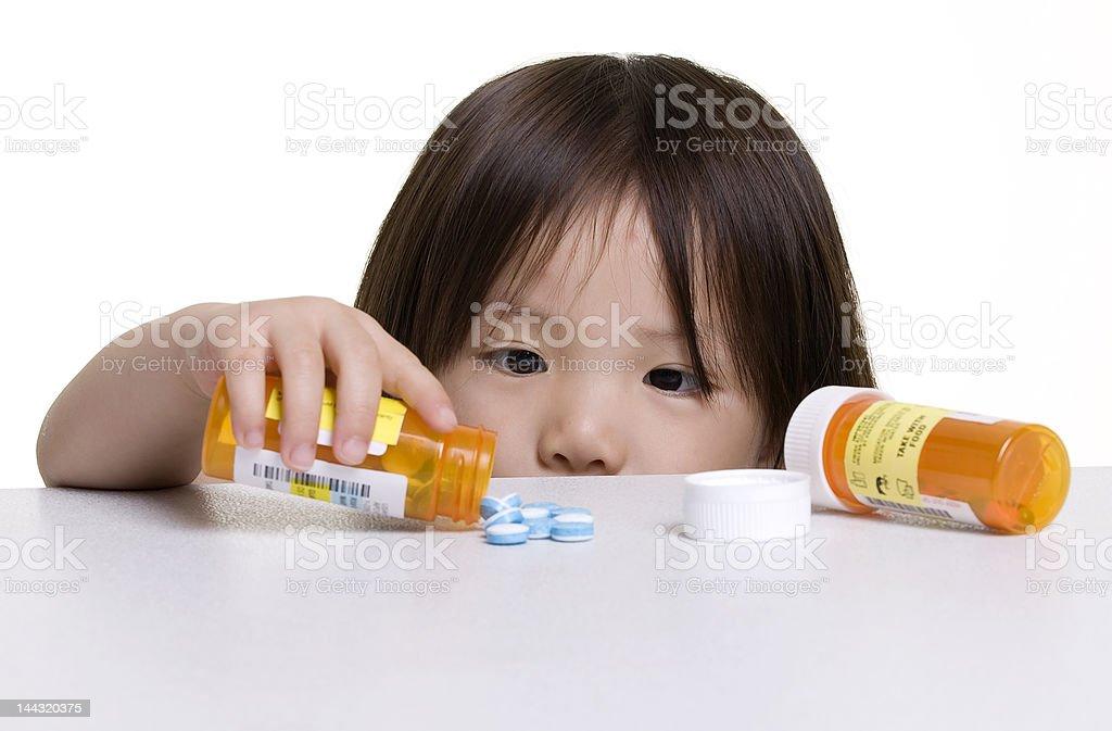 Childhood dangers stock photo