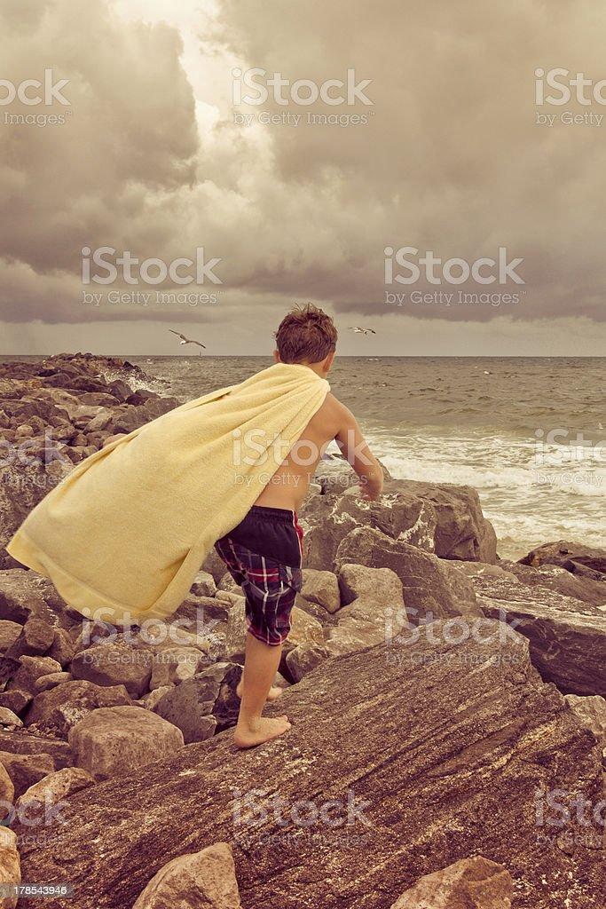 Childhood Dreams stock photo