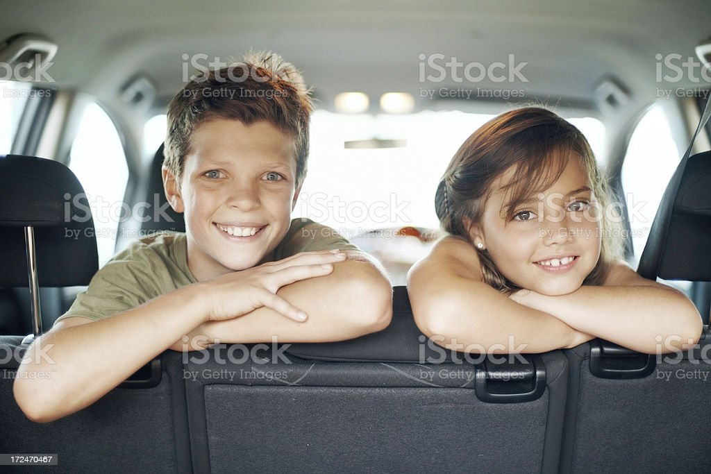 Childhood friends royalty-free stock photo