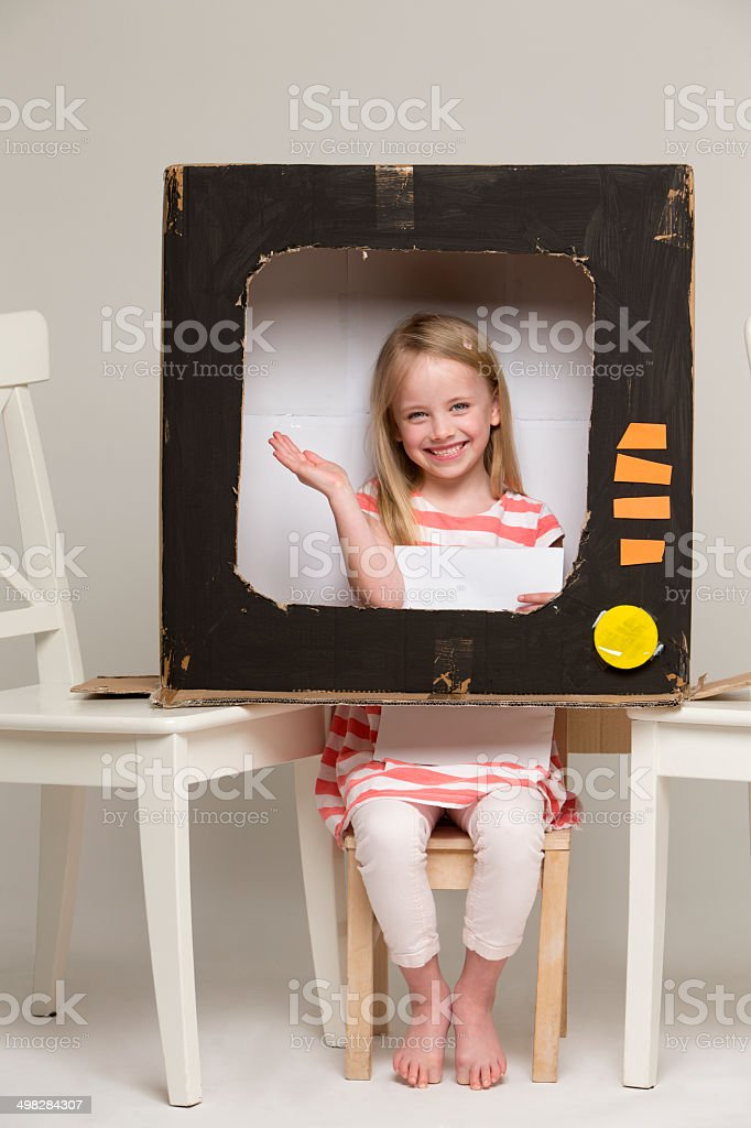 Childhood Imagination stock photo
