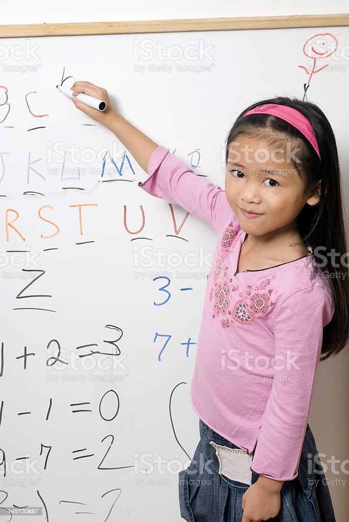 Childhood learning royalty-free stock photo
