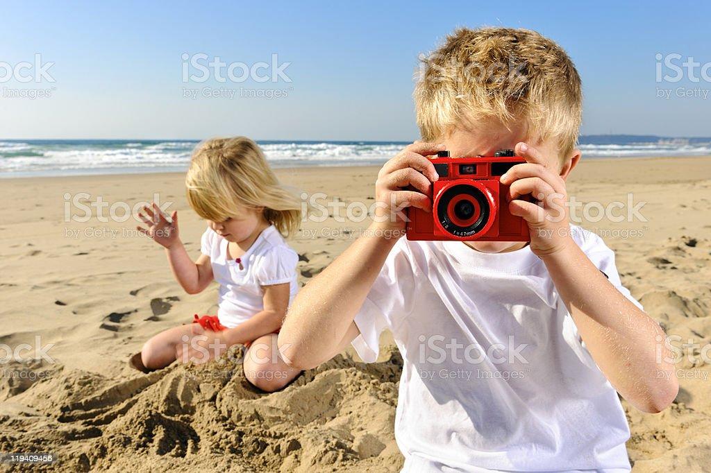 Childhood memories stock photo