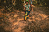 Childhood on a bicycle