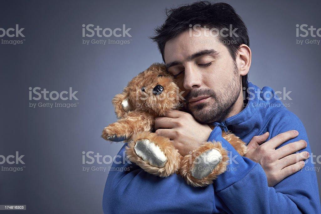 Childish habits royalty-free stock photo
