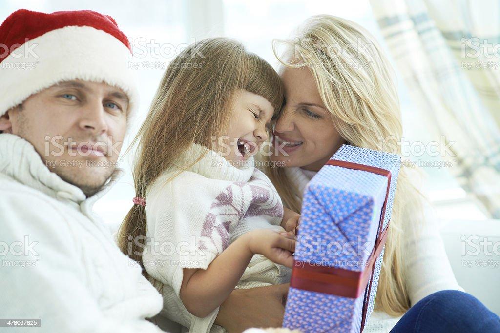 Childish happiness royalty-free stock photo