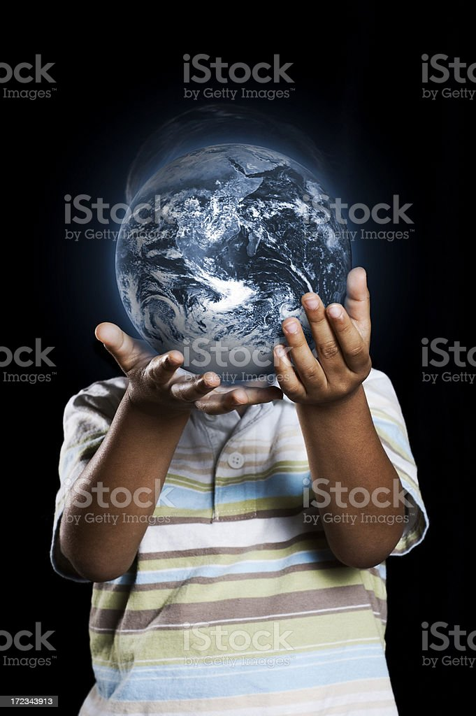 children are the future royalty-free stock photo