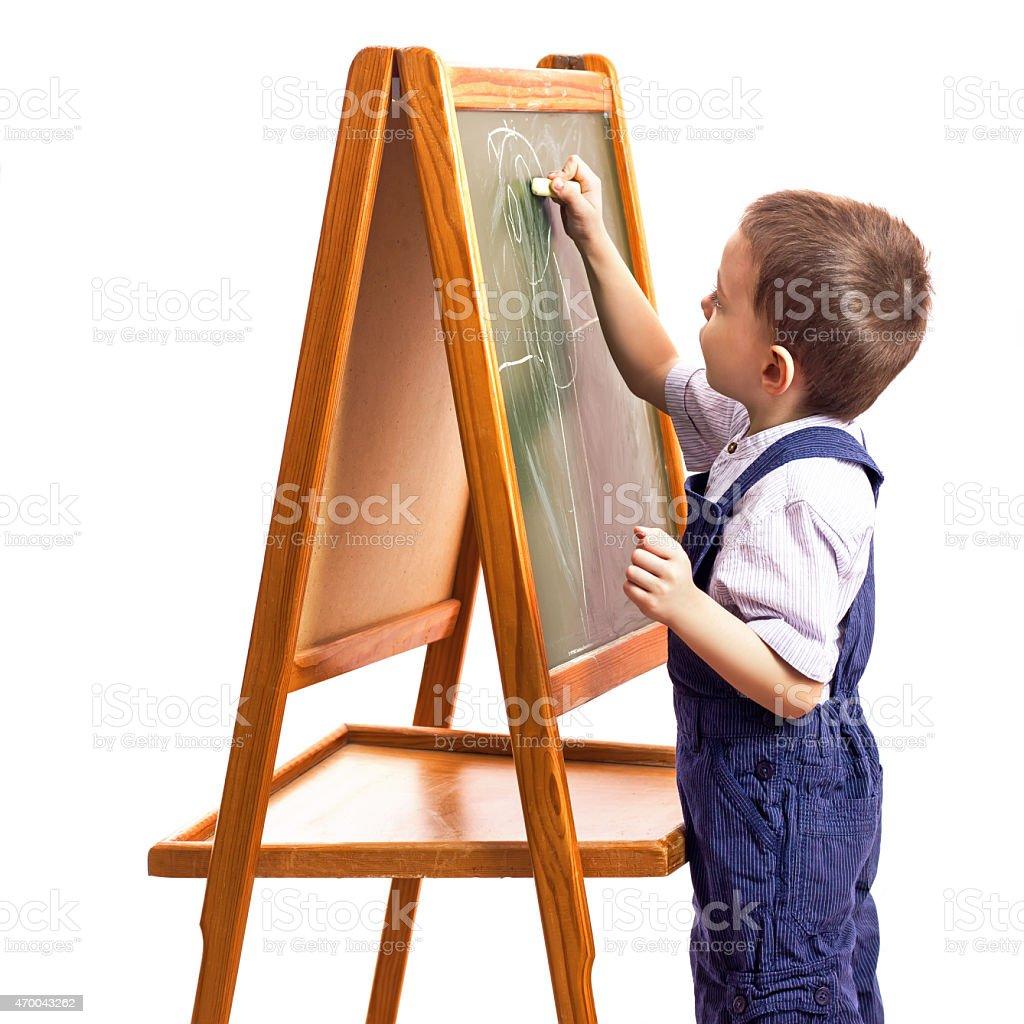 Niños de extracción foto de stock libre de derechos