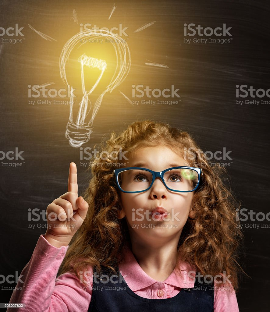 children dream stock photo