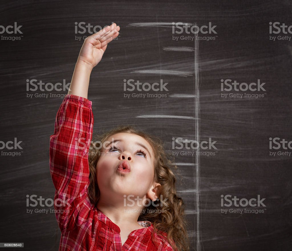 children dream stock photo
