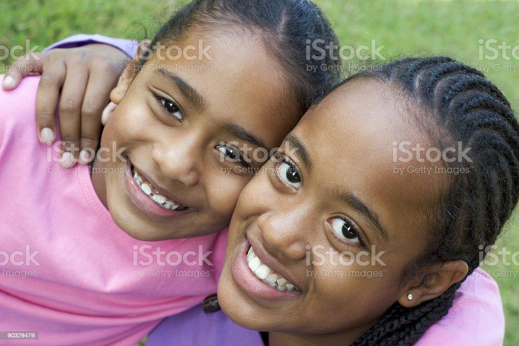 Children Friends royalty-free stock photo
