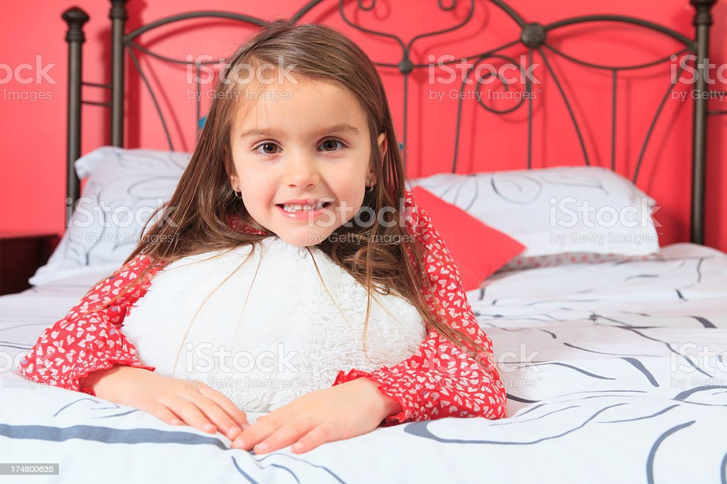 Children Girl Room - Portrait royalty-free stock photo