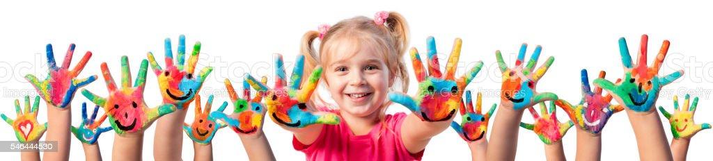 Children In Creativity stock photo