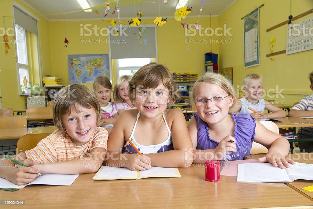 Children in School stock photo