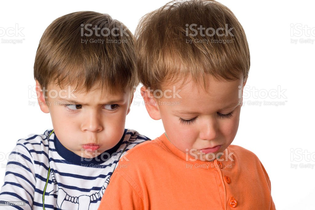 Children in war royalty-free stock photo
