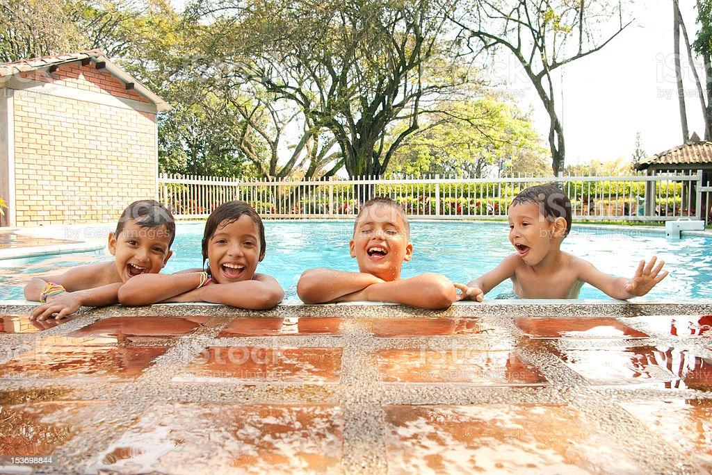 Children laughing stock photo