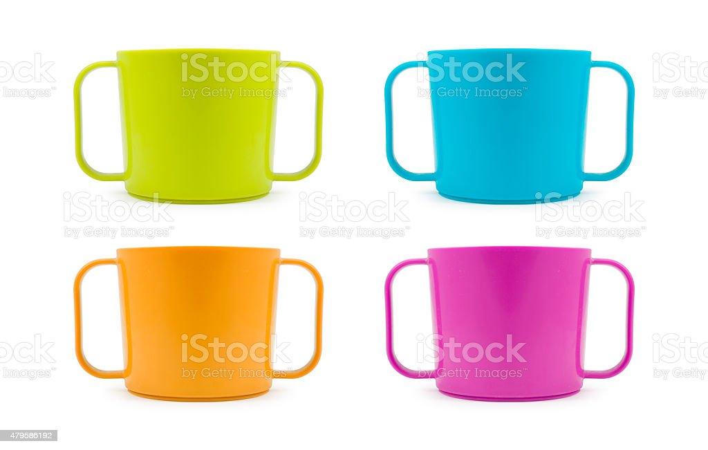 children mug stock photo