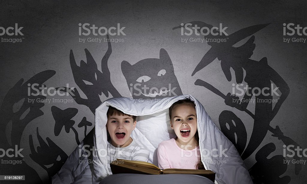 Children nightmares stock photo