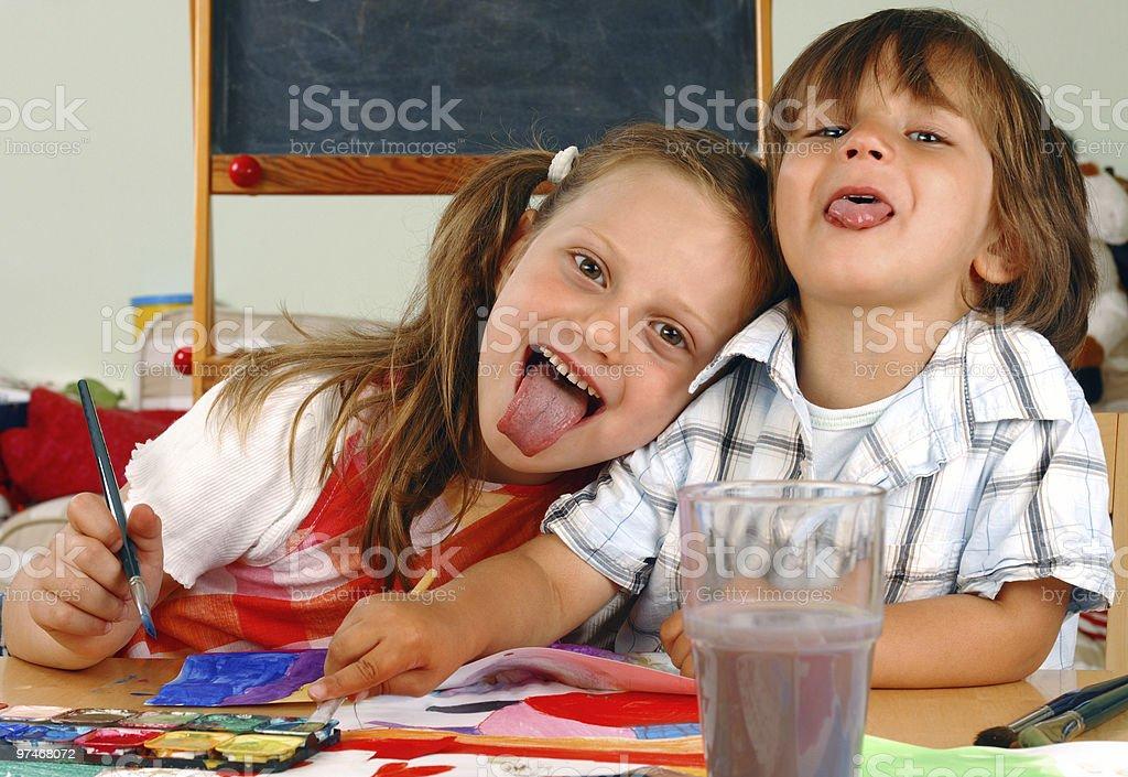 Children royalty-free stock photo