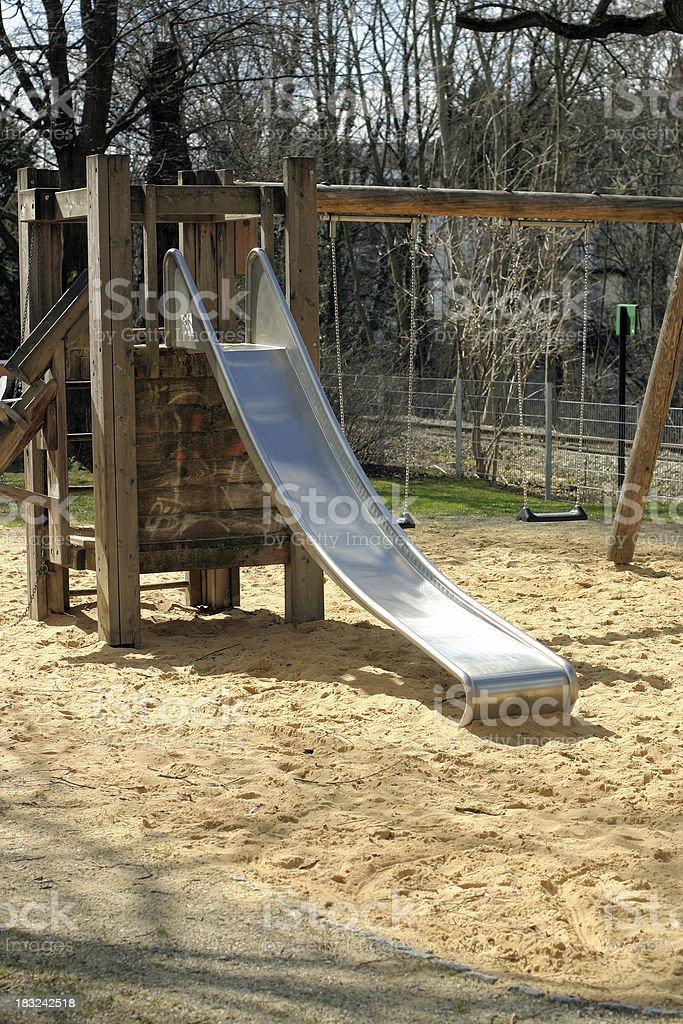 Children play yard royalty-free stock photo