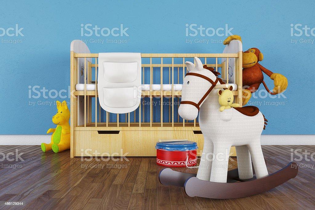 Children room - Stock Image stock photo