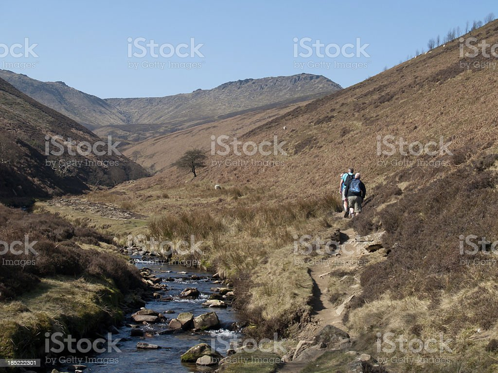 Kinder Scout stock photo
