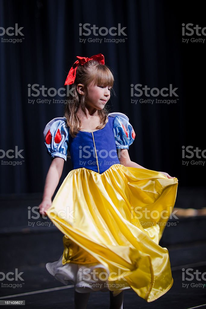 Children Theater Play royalty-free stock photo