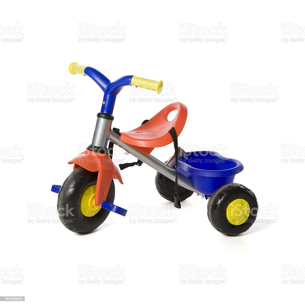 Children toy tricyle stock photo