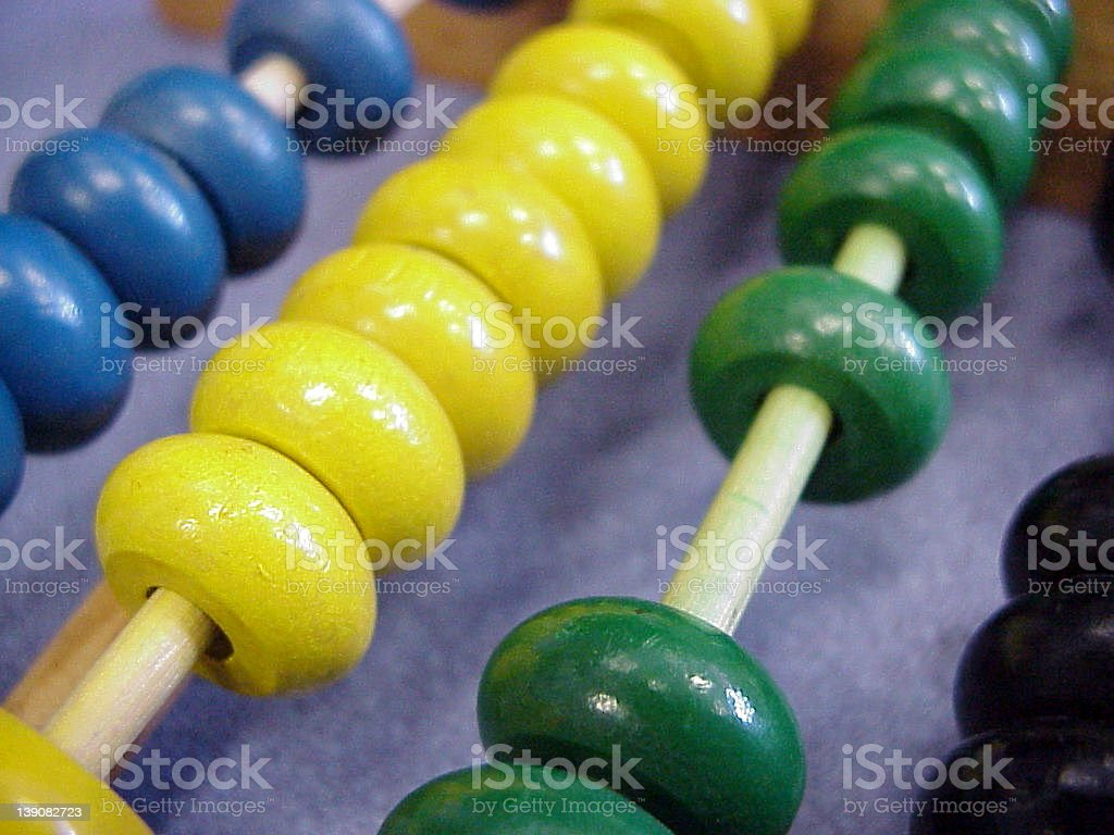 children's abacus 2 royalty-free stock photo