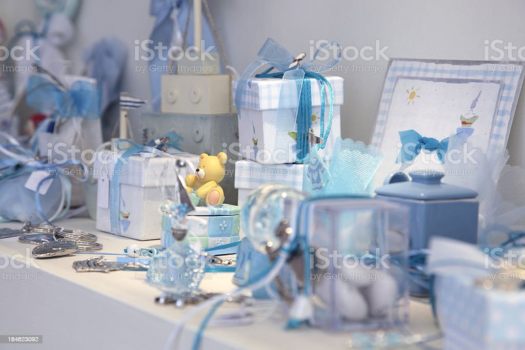Children's accessories stock photo