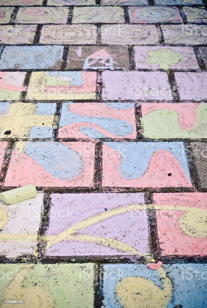 childrens art stock photo