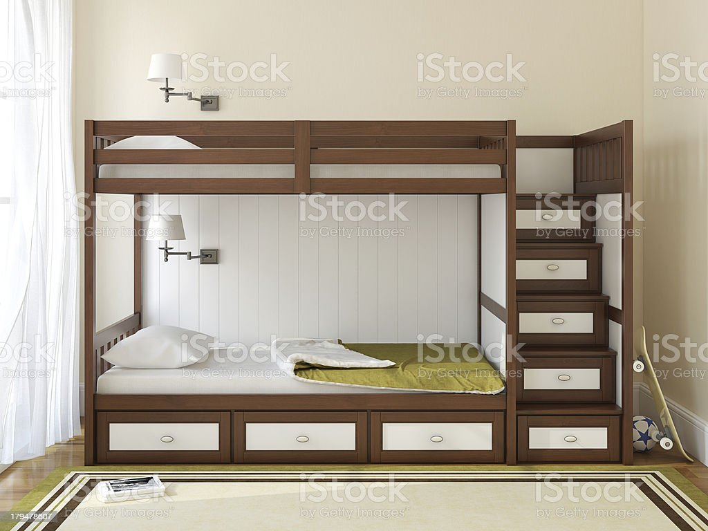 Children's bedroom royalty-free stock photo