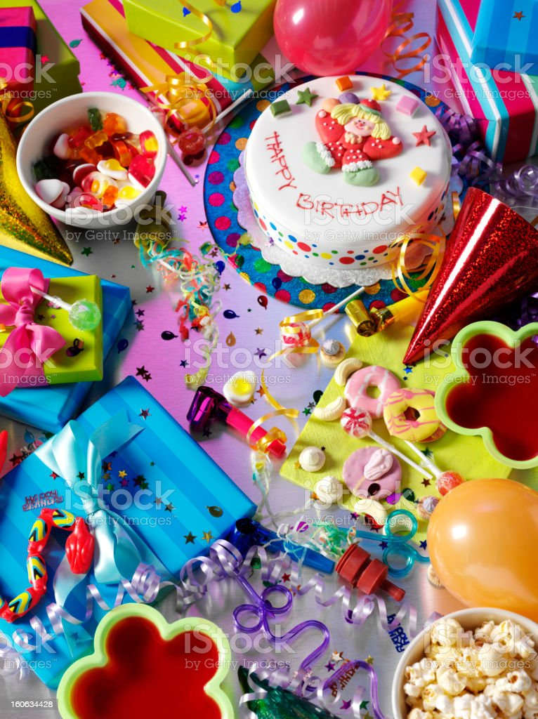 Children's Birthday Party royalty-free stock photo