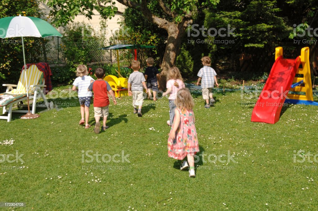 Children´s birthday party #4 royalty-free stock photo