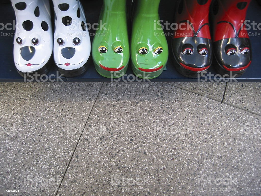 Children's Boots royalty-free stock photo
