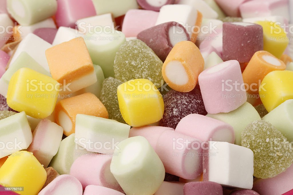 Childrens candy sweets. royalty-free stock photo