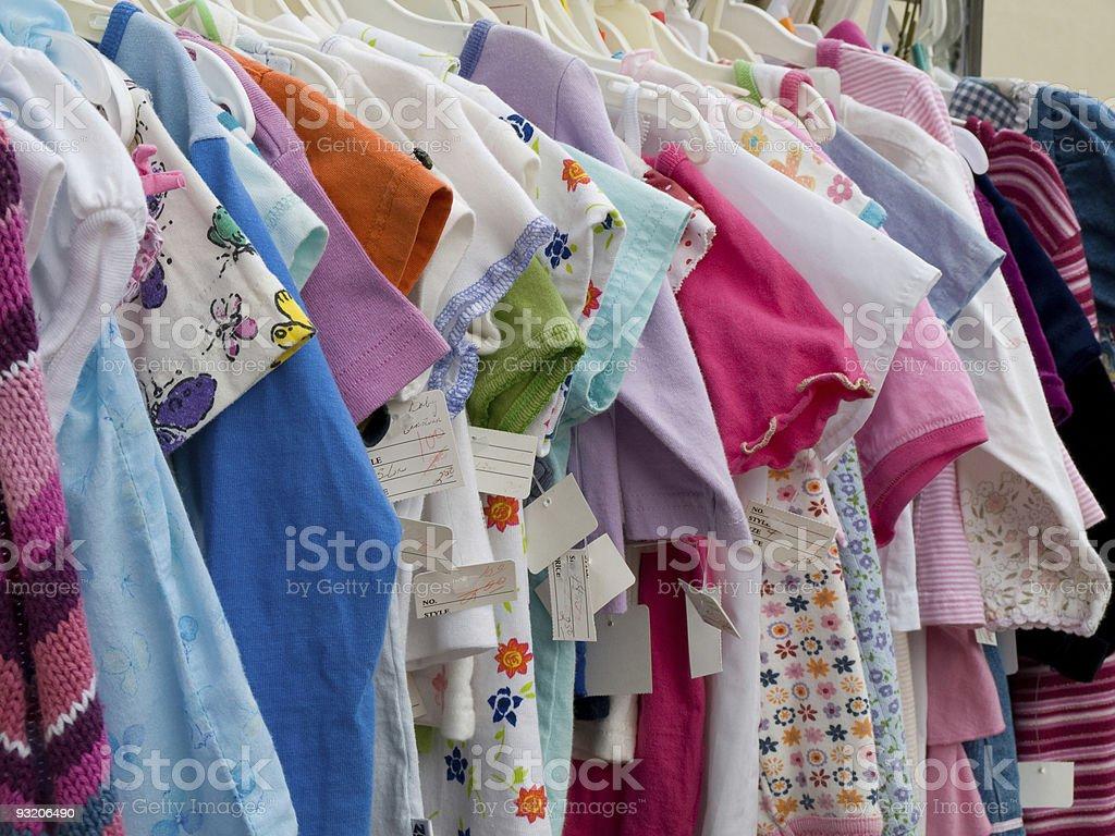Children's Clothing stock photo