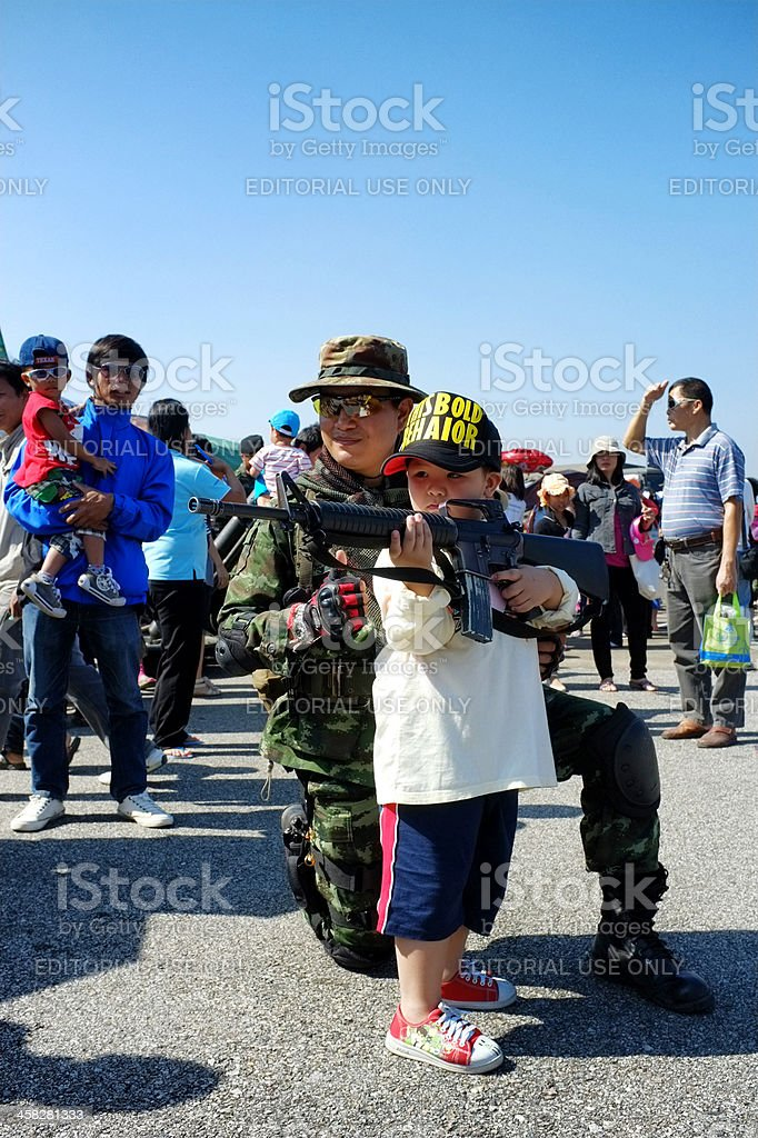 Children's day Chiang Mai royalty-free stock photo