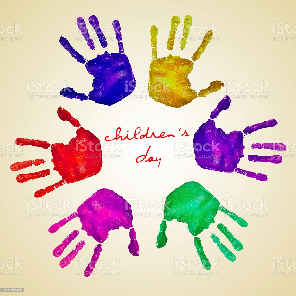 childrens day stock photo