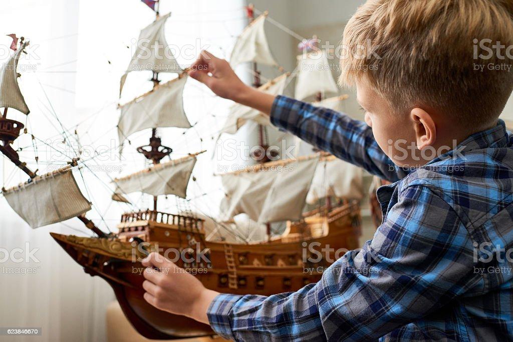 Childrens dream stock photo