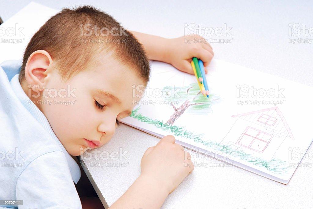 Children's dreams stock photo