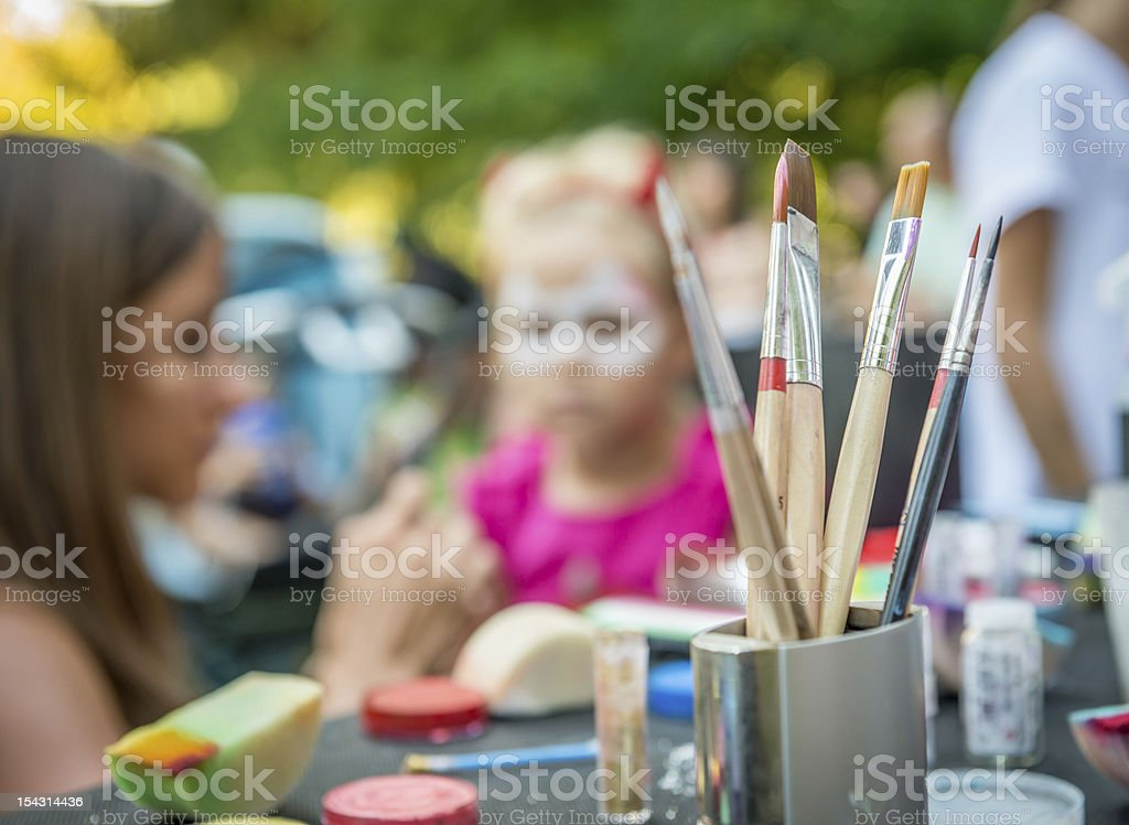 Children's fair - disguise for carnival royalty-free stock photo