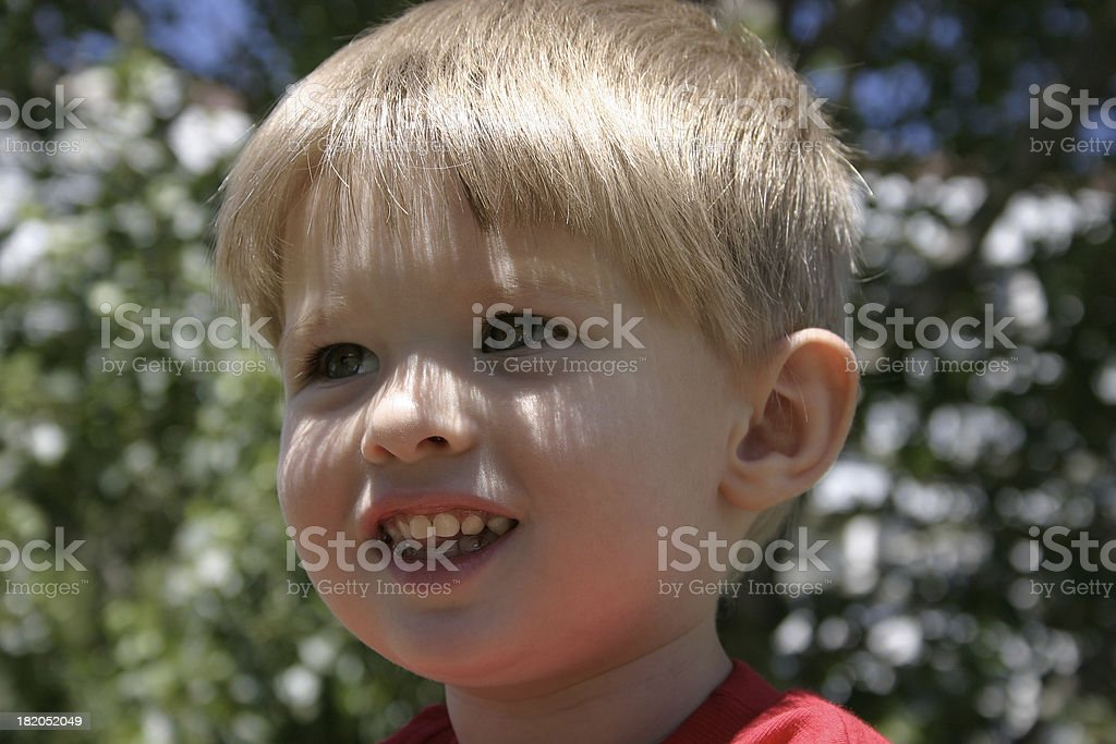 Children's happiness stock photo