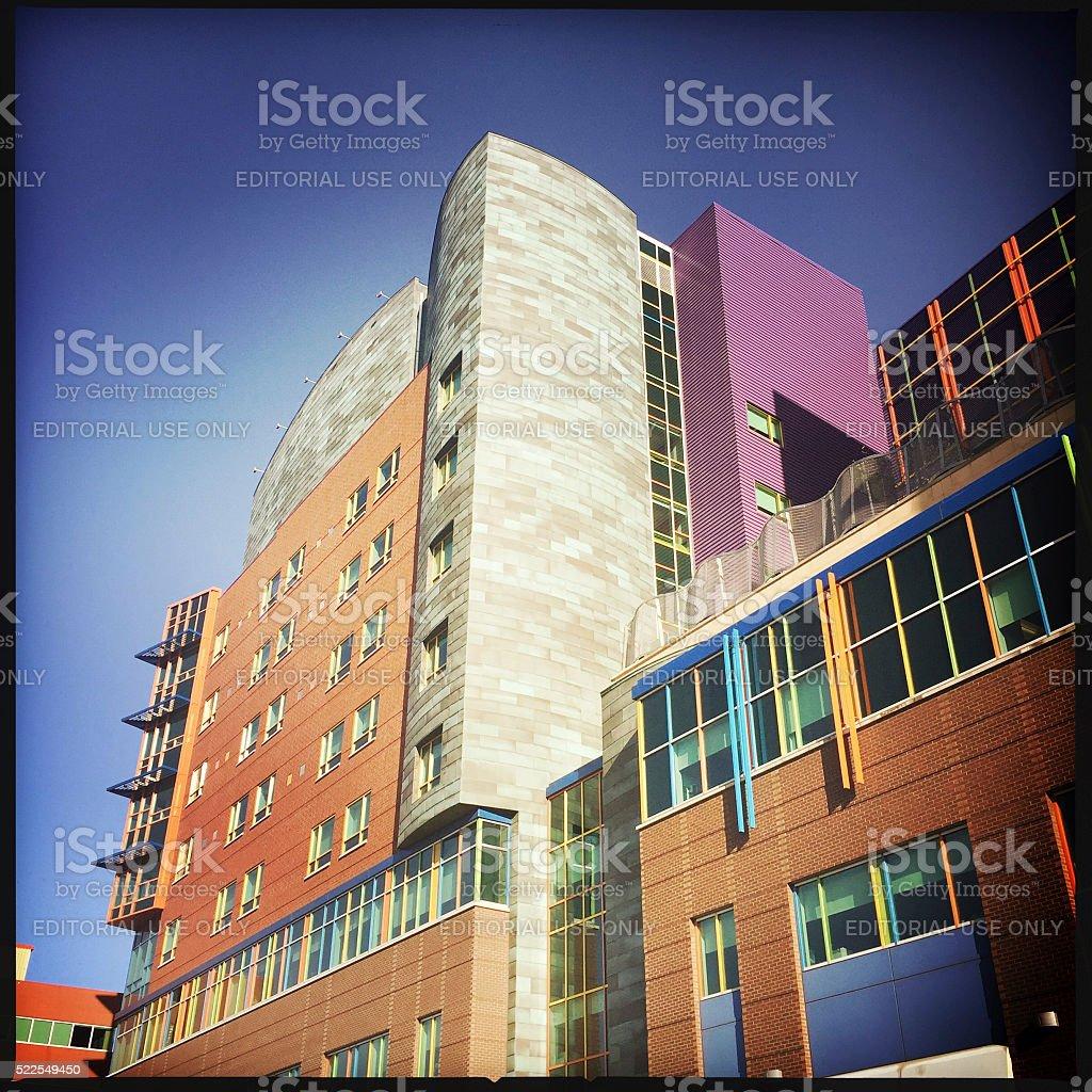 Children's Hospital in Pittsburgh stock photo