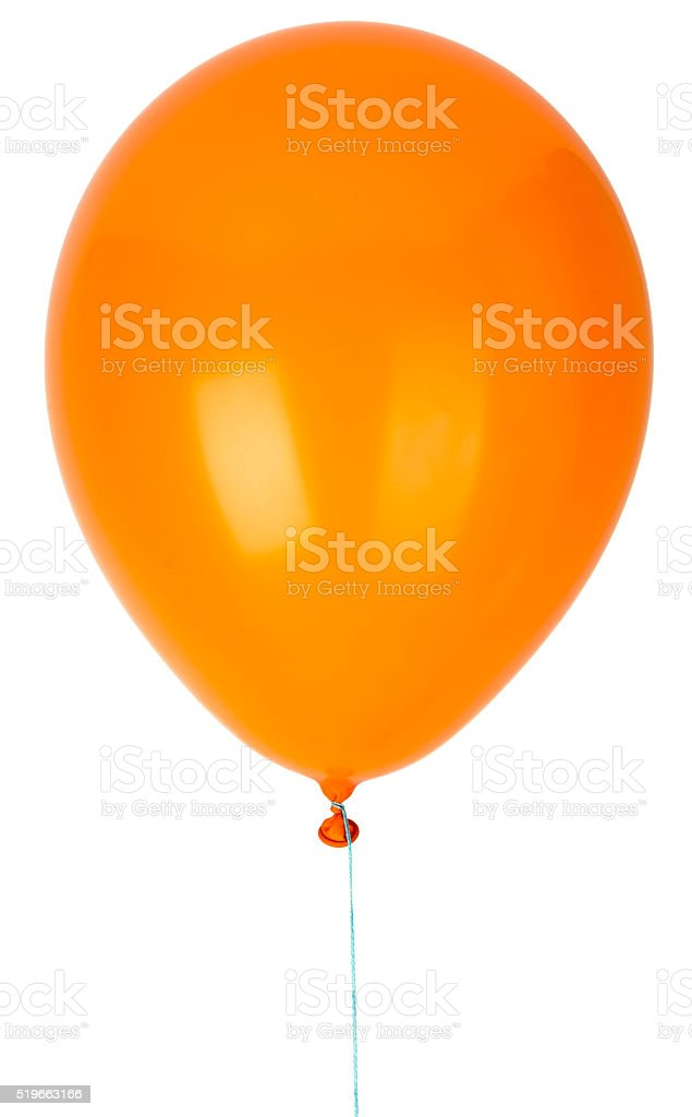 Childrens party balloon stock photo