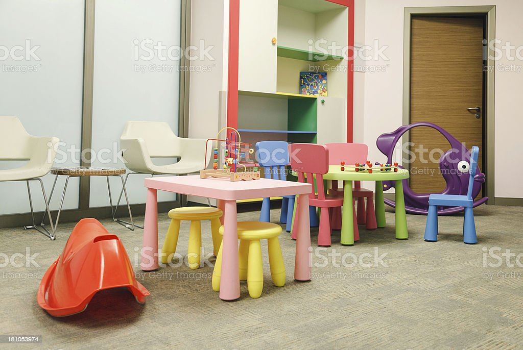 Children's Play Room royalty-free stock photo