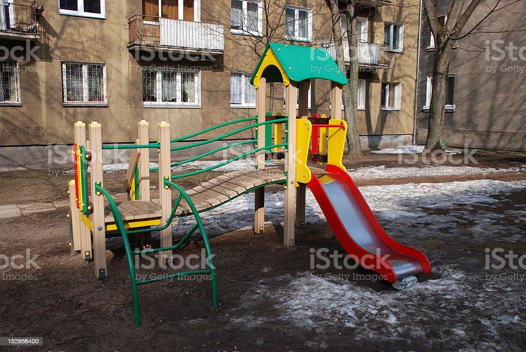 Children's playground royalty-free stock photo