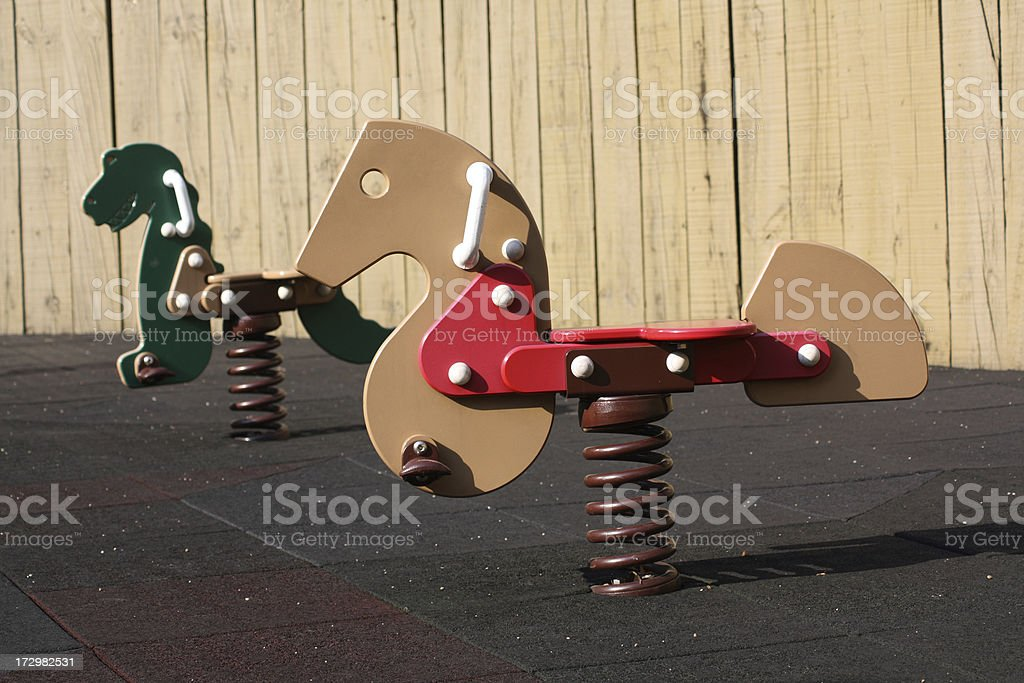 Children's Rides stock photo