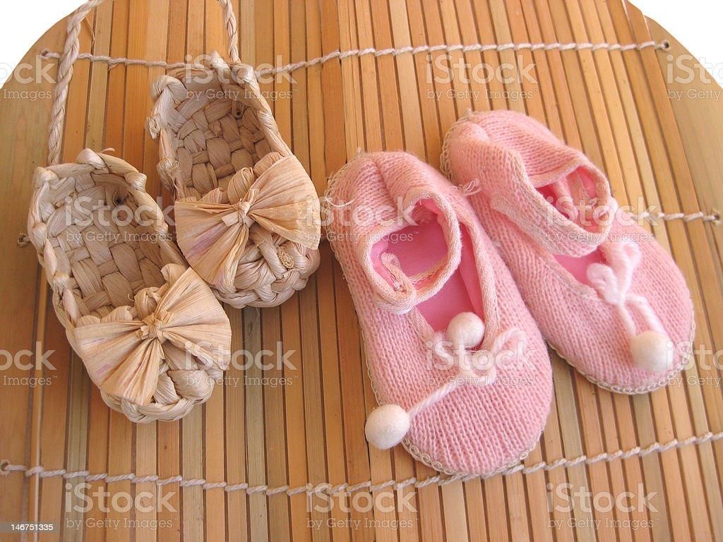 お子様向けの小さめの靴 ロイヤリティフリーストックフォト