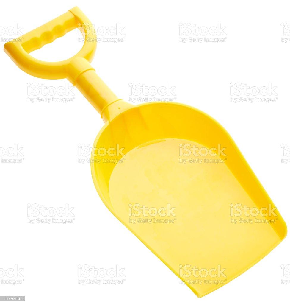 Children's spade stock photo