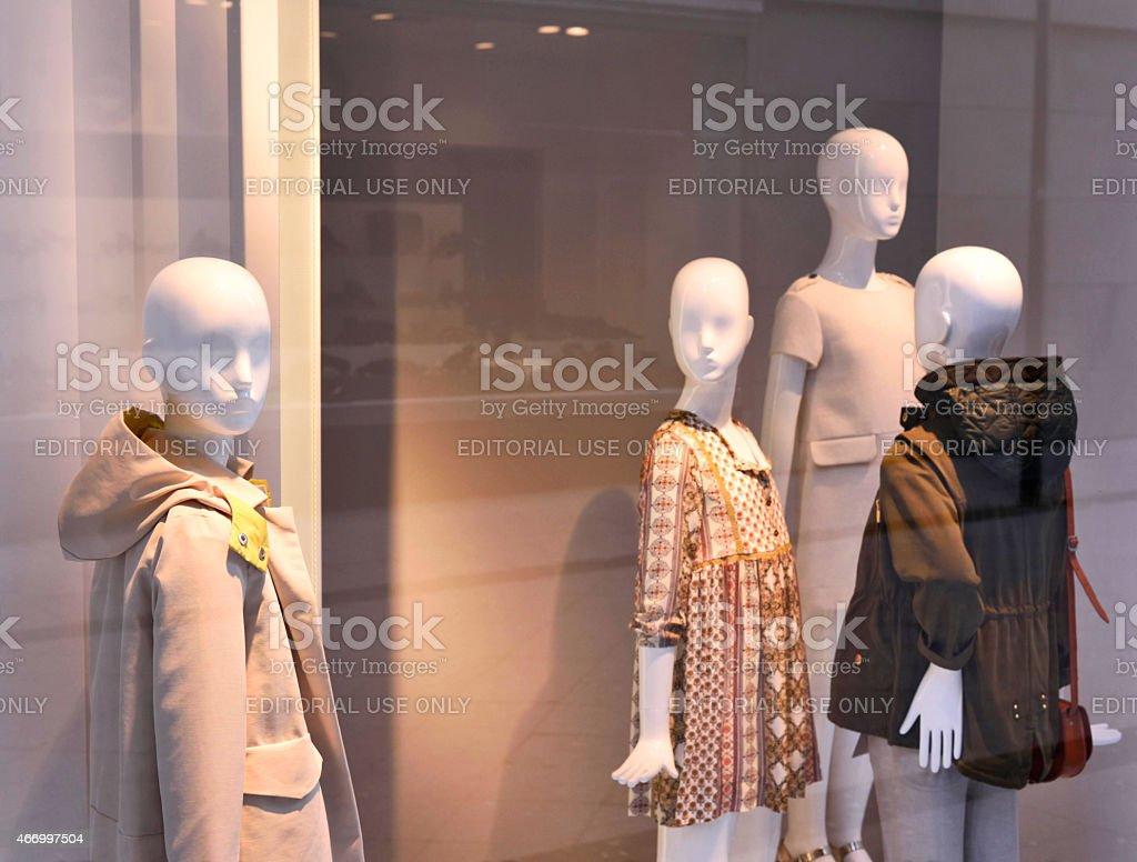 Children's wear stock photo